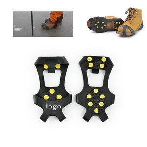 Silicone Anti-Slip Spiked Shoe Cover